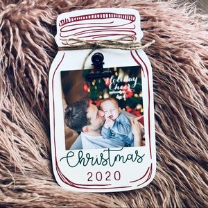 Christmas 2020 Rustic Picture Frame